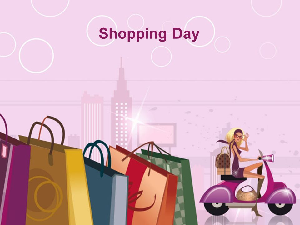 Shopping Day Free Powerpoint Templates - ppt video online download