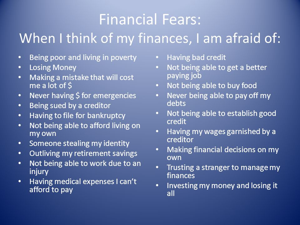 Financial Education Helping Women Plan a Financial Future - ppt