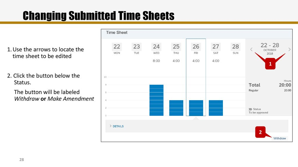 Recording Time and Requesting Time Off - ppt download