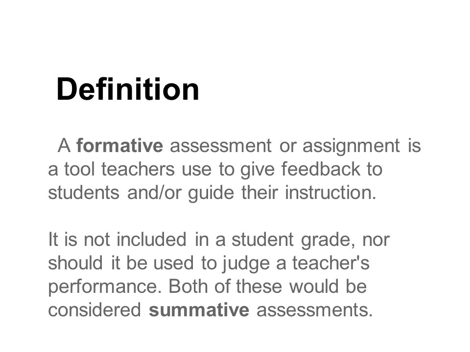 56 different examples of formative assessment - ppt video online