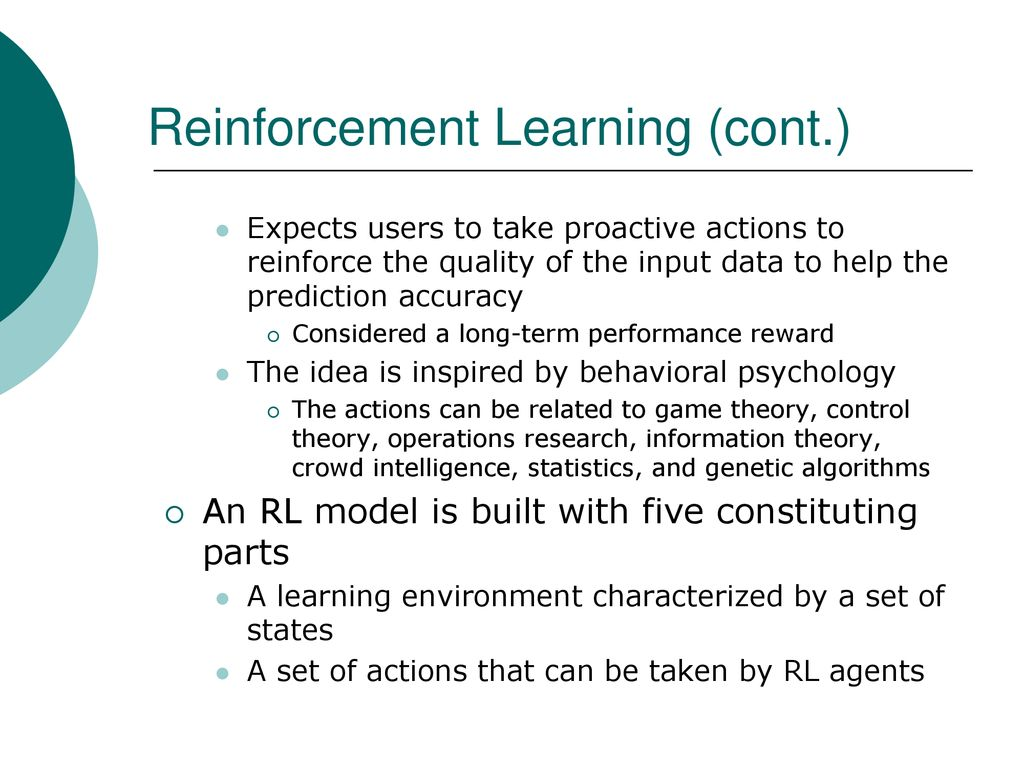 Renforce Learning Reinforcement Learning Ppt Download