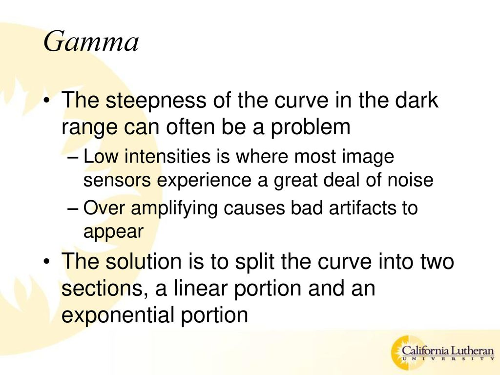 Gamma Split Point Operations Chapter 5 Ppt Download