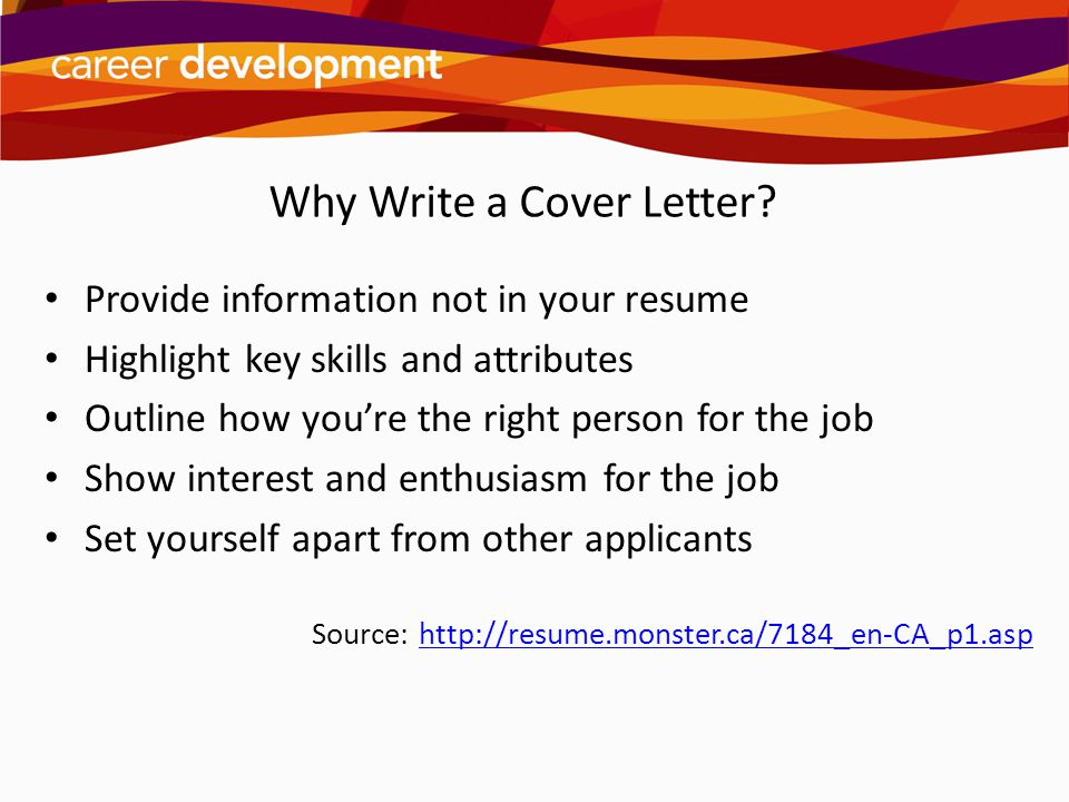 Writing Cover Letters - ppt video online download - why write a cover letter