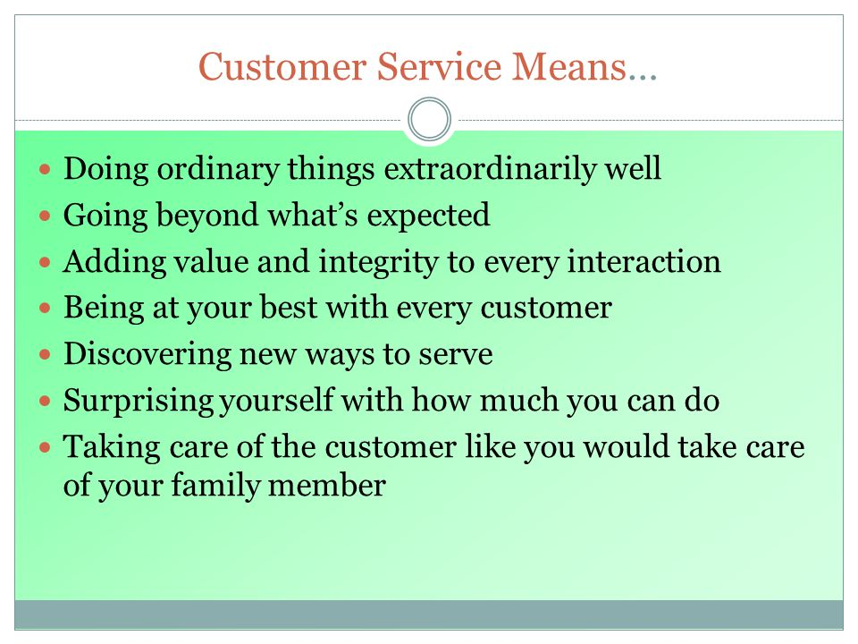 Delivering quality customer service thinking like a customer - ppt