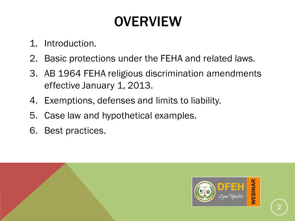 Discrimination based on religion in the workplace David L - ppt download