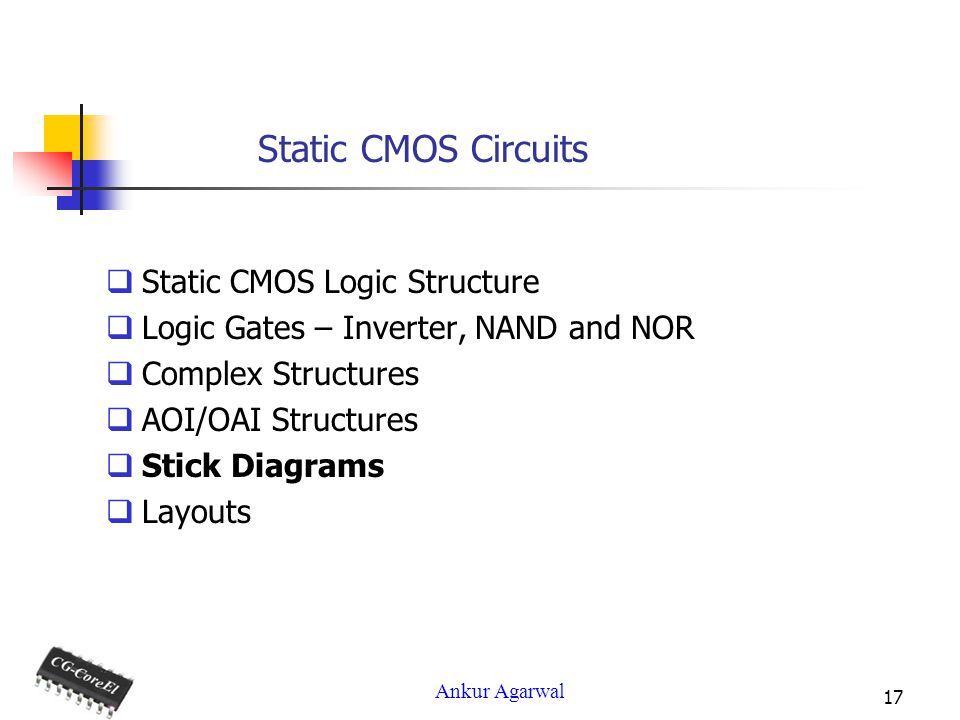 Static CMOS Circuits - ppt video online download
