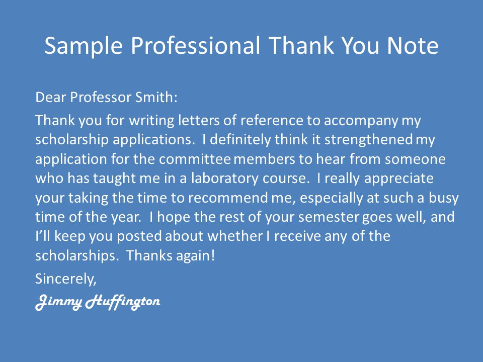 Writing Thank You Notes - ppt video online download