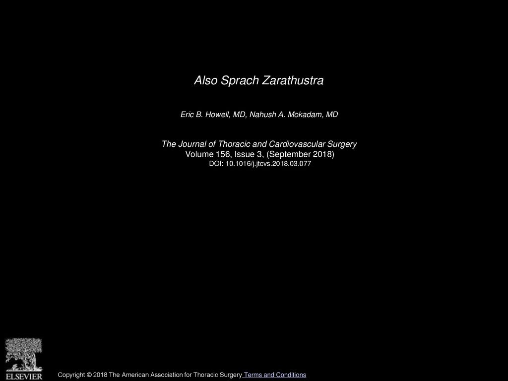 Also Sprach Zarathustra Also Sprach Zarathustra Ppt Download