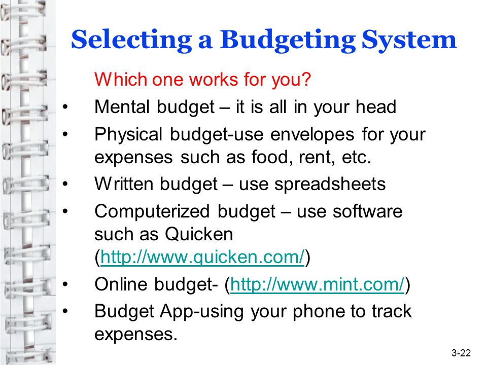 Money Management Strategy Financial Statements and Budgeting - ppt