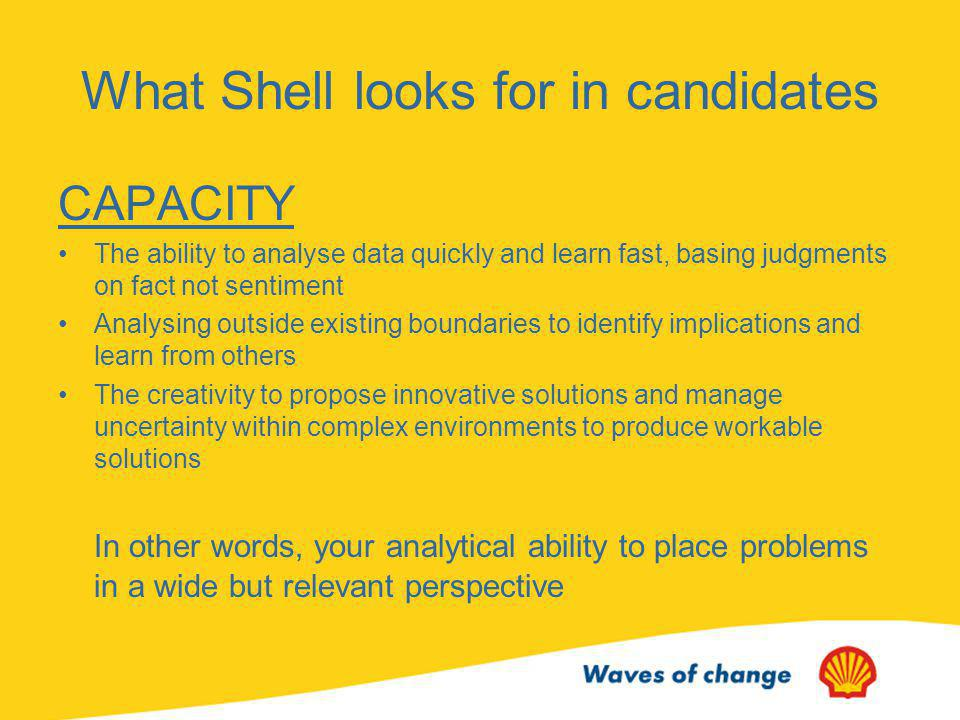 Shell Interview Skills Presentation - ppt video online download