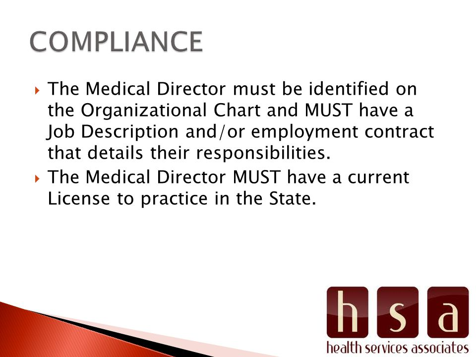 RHC Organizational Structure and Staff Responsibilities CFR - ppt