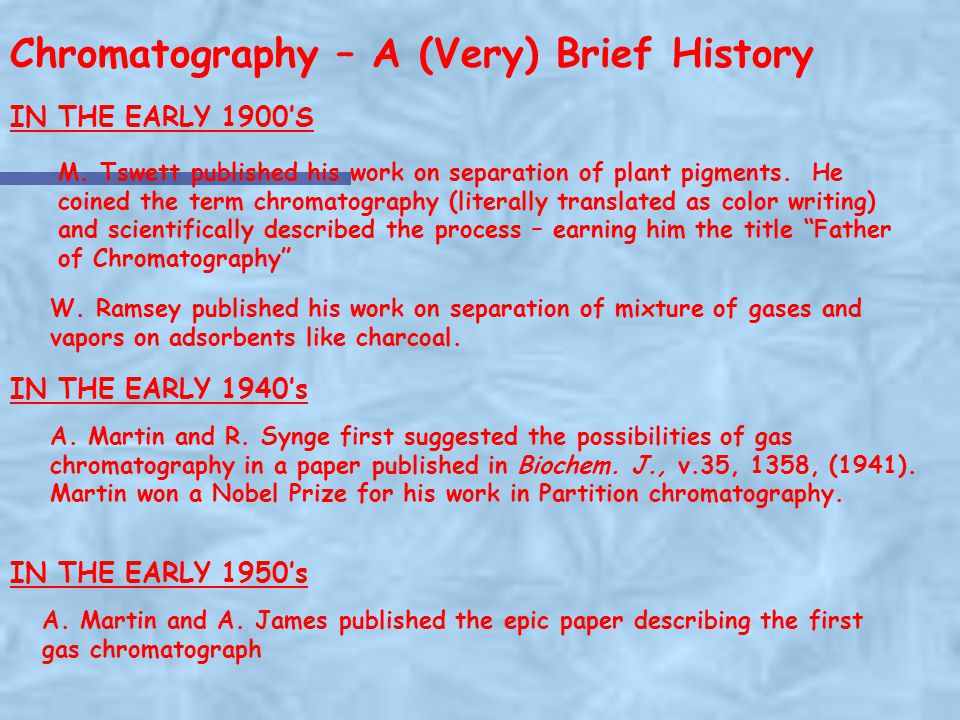 Basic Gas Chromatography - ppt download