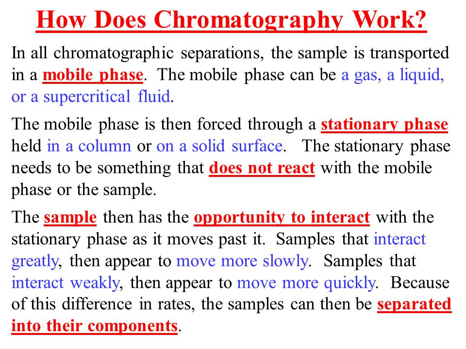 how does gas chromatography work - Canasbergdorfbib