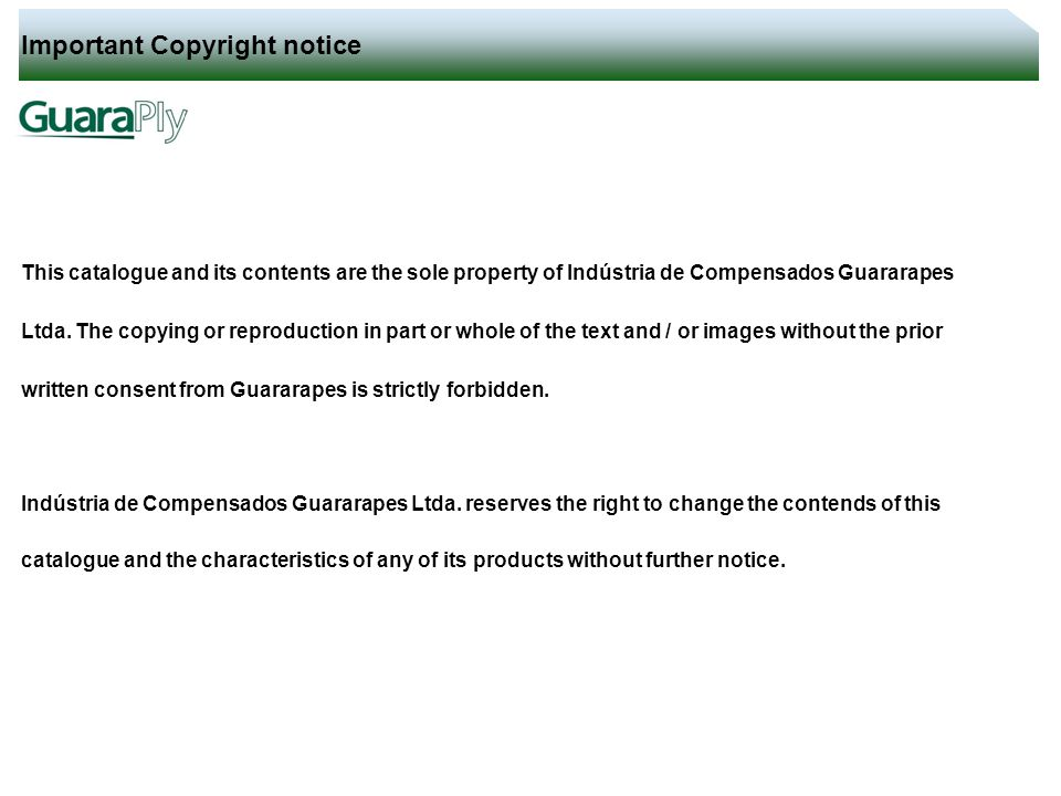 Important Copyright notice - ppt video online download