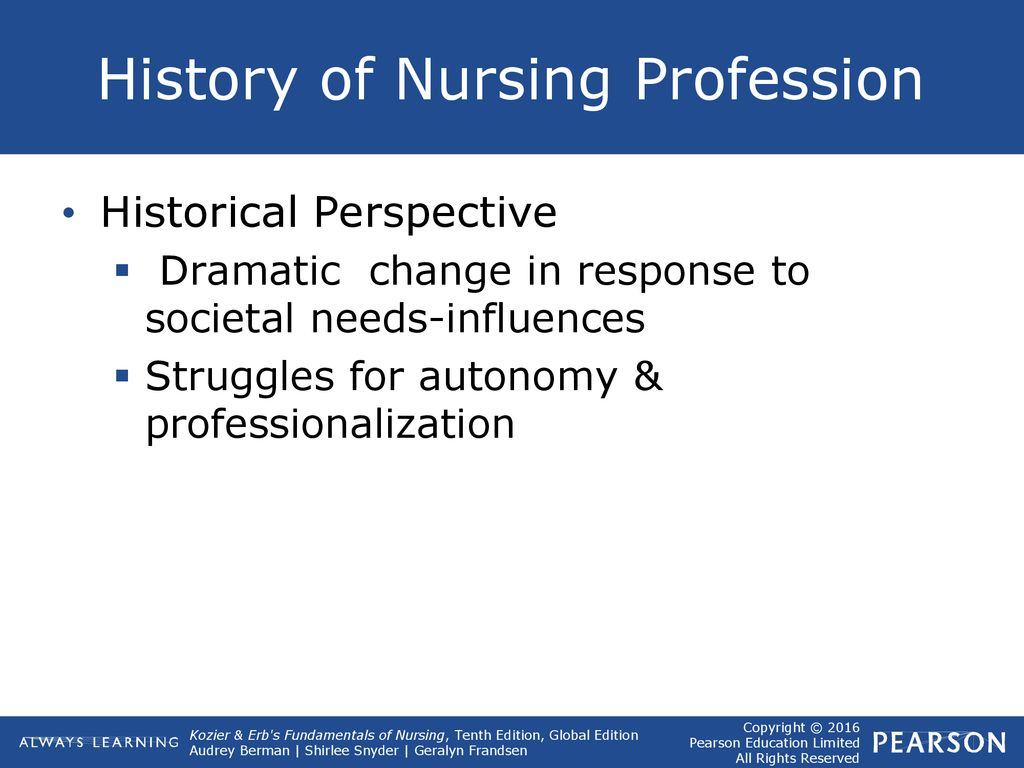 History Evolution Of Nursing Ppt Download