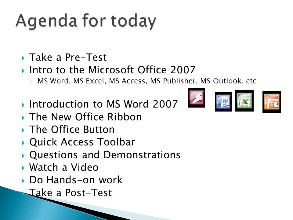 Introduction to Microsoft Office 2007 with focus on MS Word - ppt