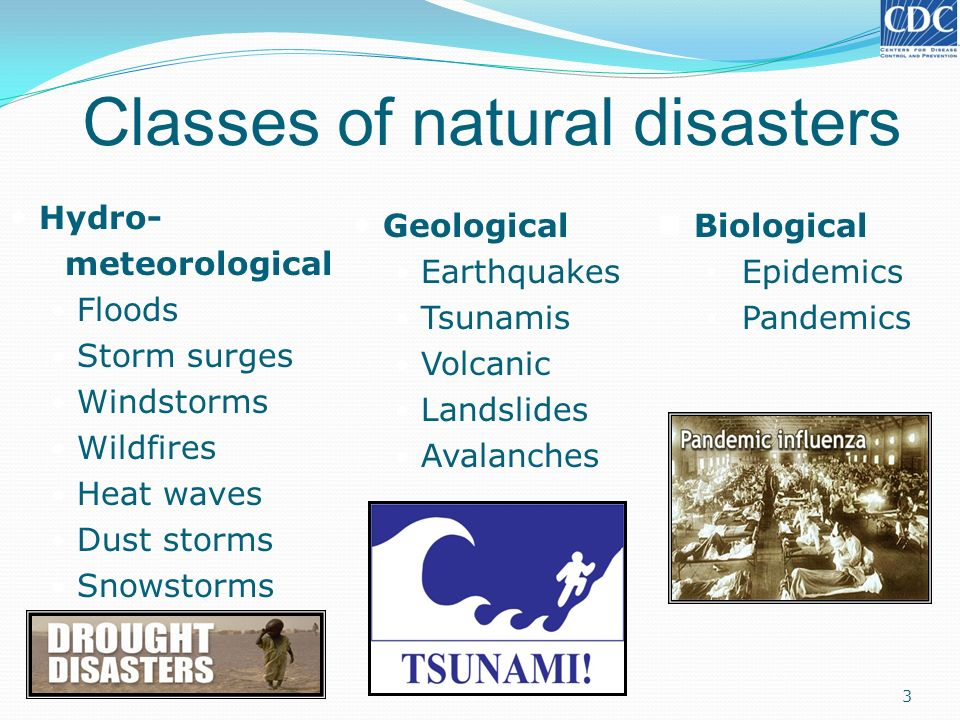 Health Risk from Natural Disasters - ppt download