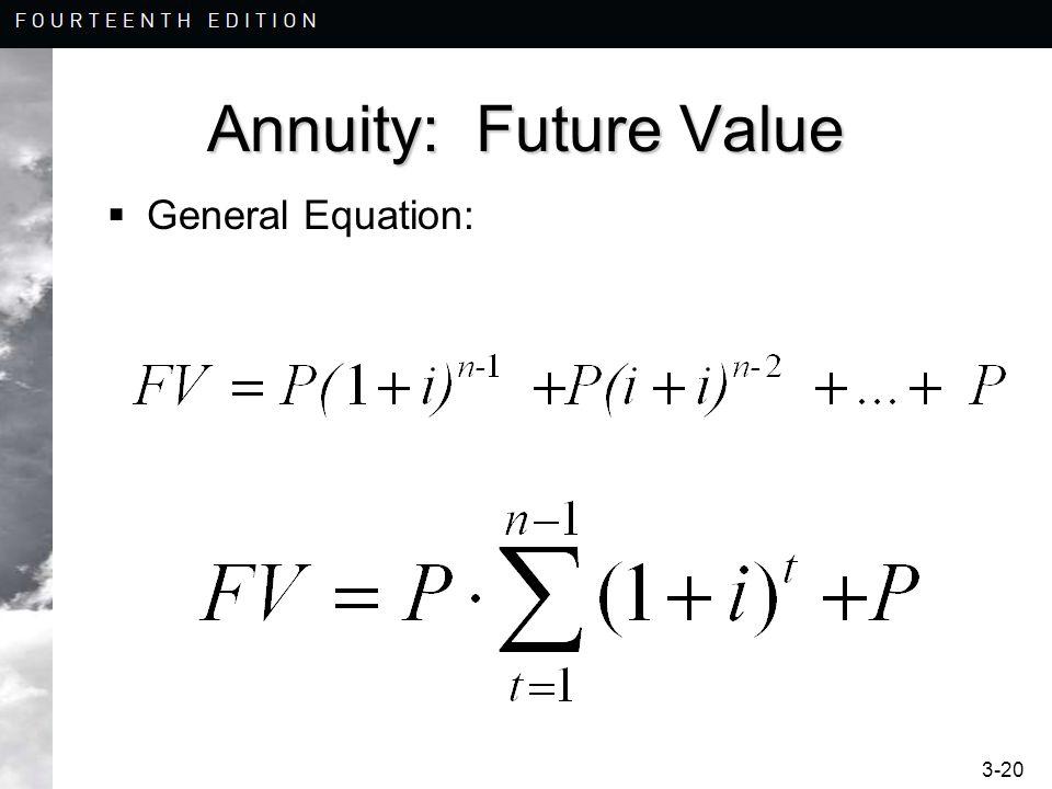 Annuity Equation cvfreepro - annuity equation