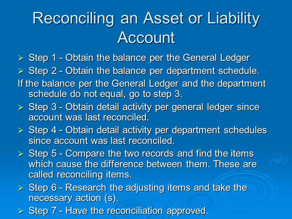 Balance Sheet Account Reconciliation Tutorial - ppt video online