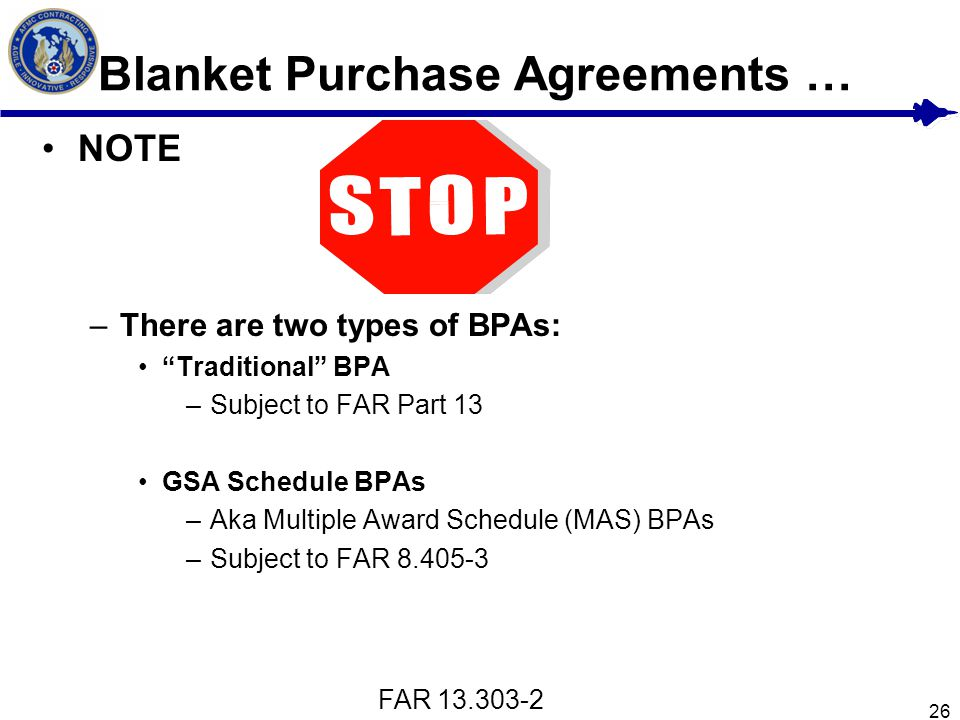 Blanket Purchase Agreements Freeletterndby