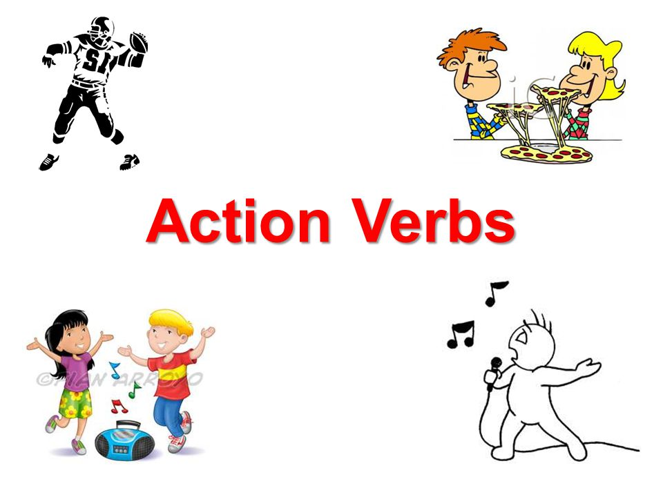 Action Verbs - ppt video online download