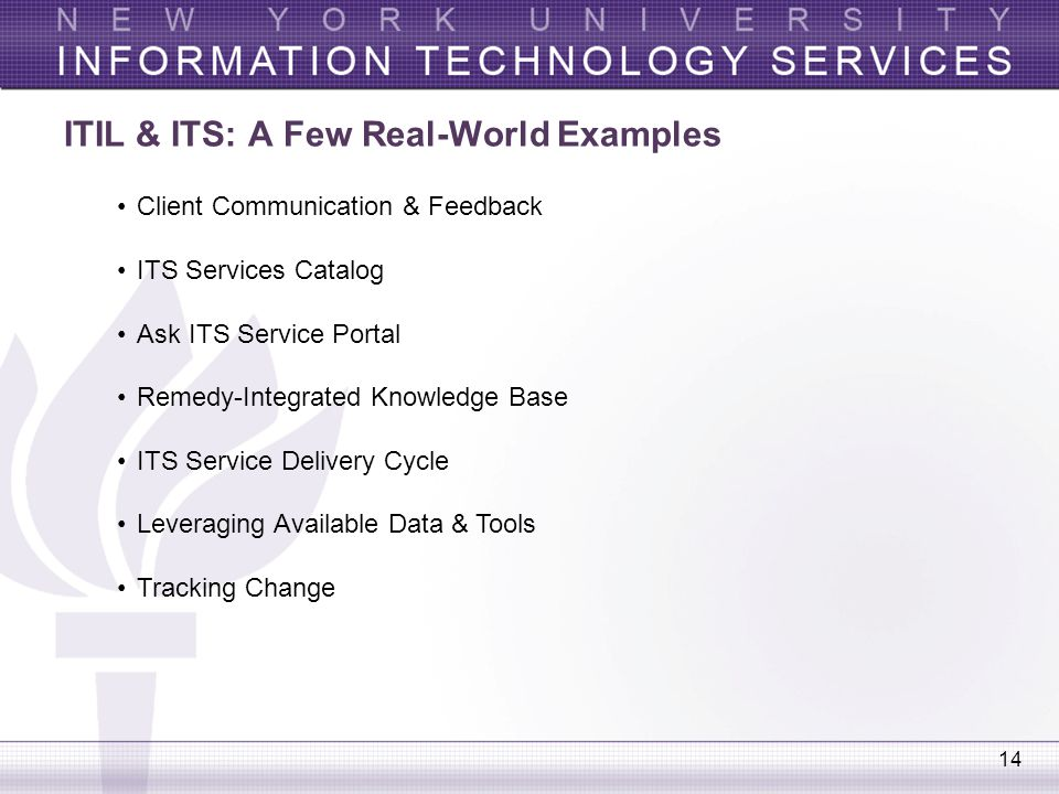 Leveraging ITIL Best Practices for - ppt video online download