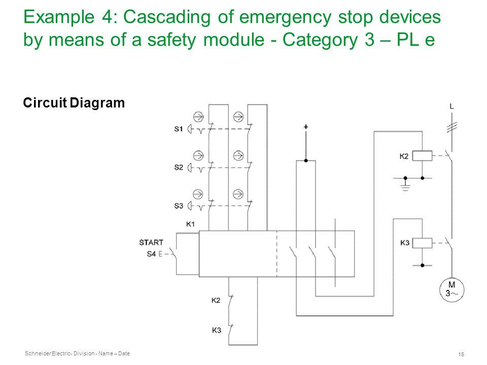 E Stop Circuit Diagram Wiring Diagram