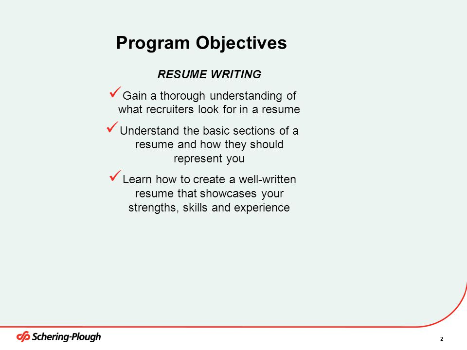 Resume Writing Training March 3, ppt video online download