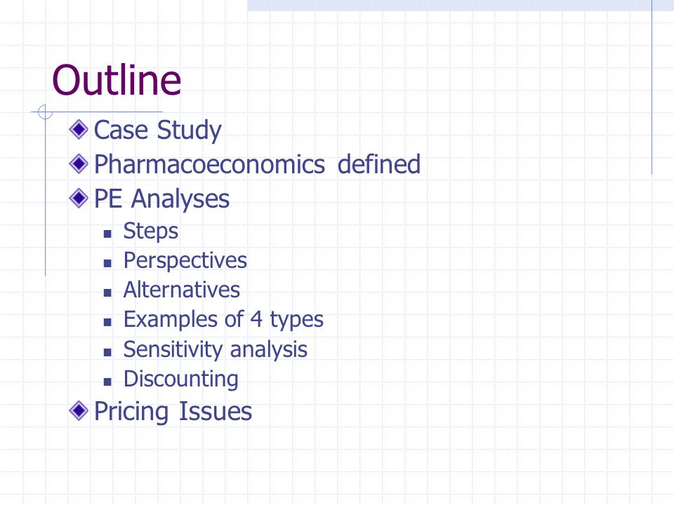 Chapter 23 Pharmacoeconomic Calculations - ppt video online download
