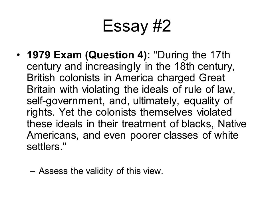 Essay Preparation Colonial American Issues - ppt video online download