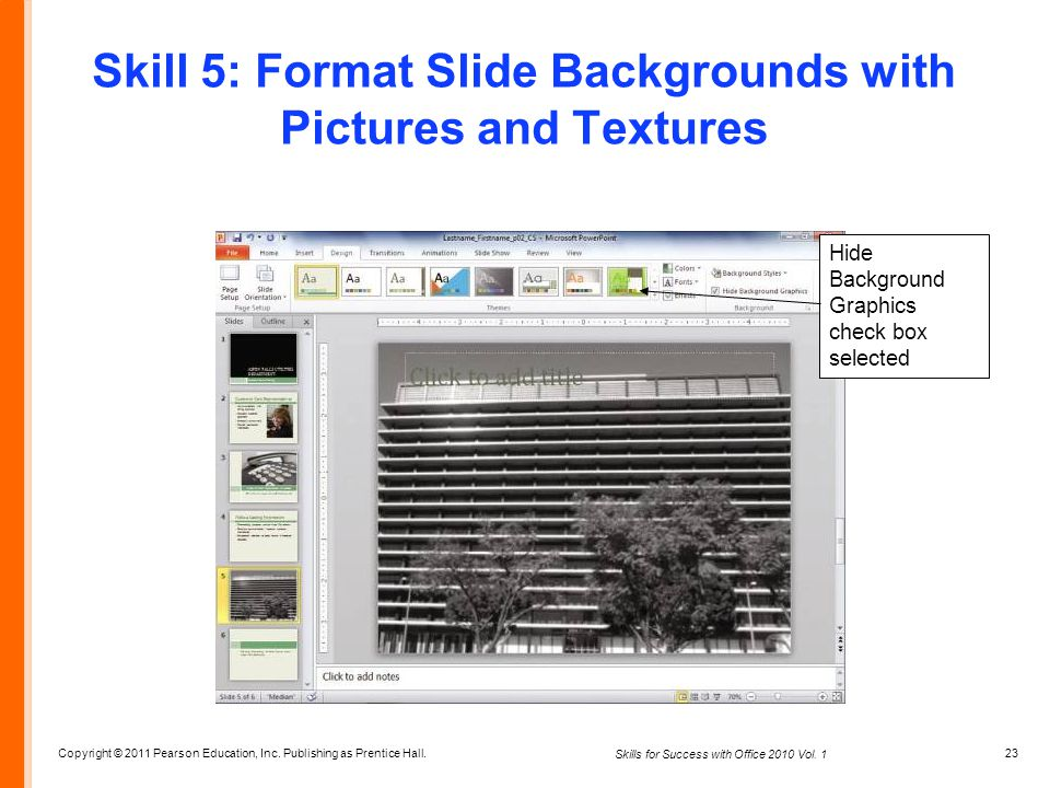 Skills for Success with Microsoft® Office ppt video online download