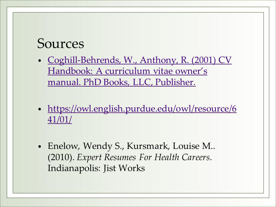 The Curriculum Vitae Handbook Gorgeous Resumes and CVs For MPH