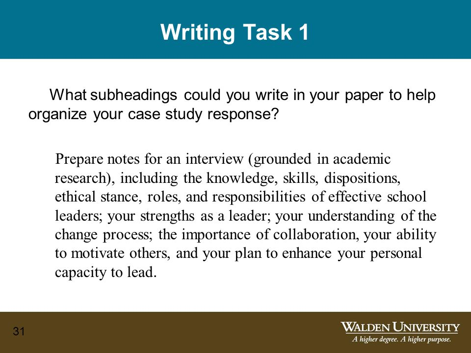 How do you write a case study analysis Research paper Academic