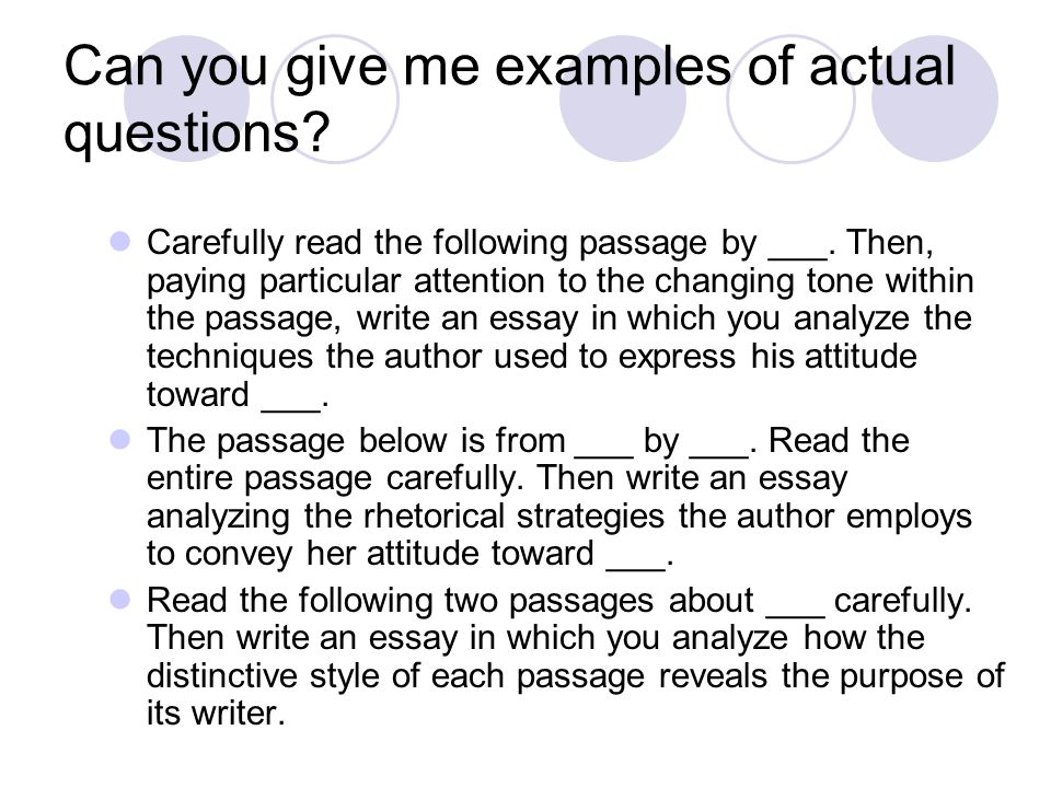 Prose Analysis Essay for the AP Language and Composition Exam - ppt