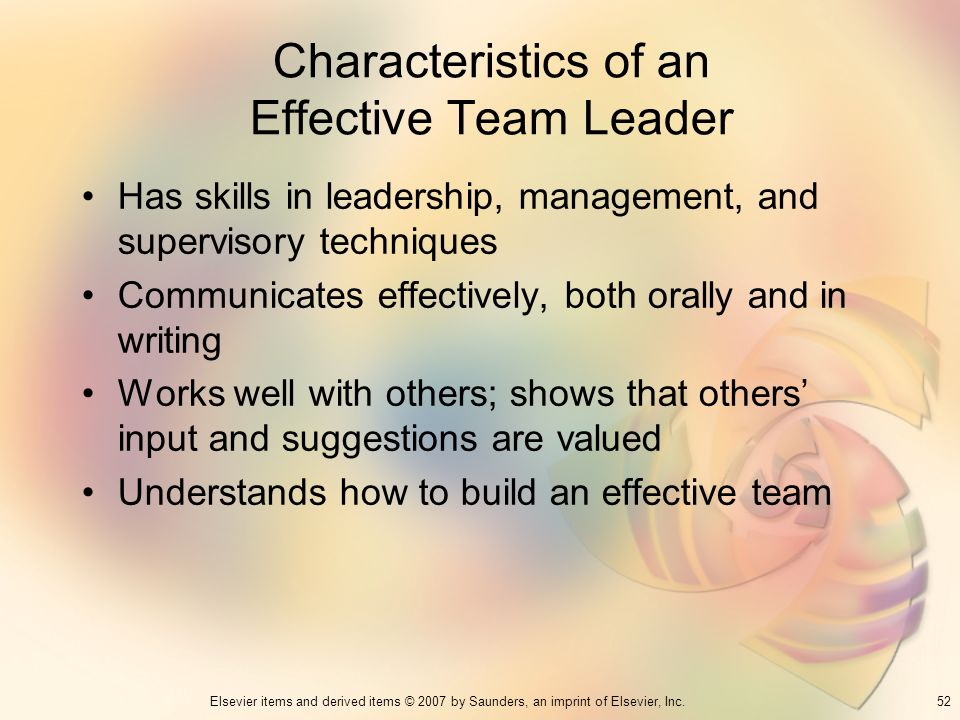 leadership qualities team leader potential intelivate kris fannin