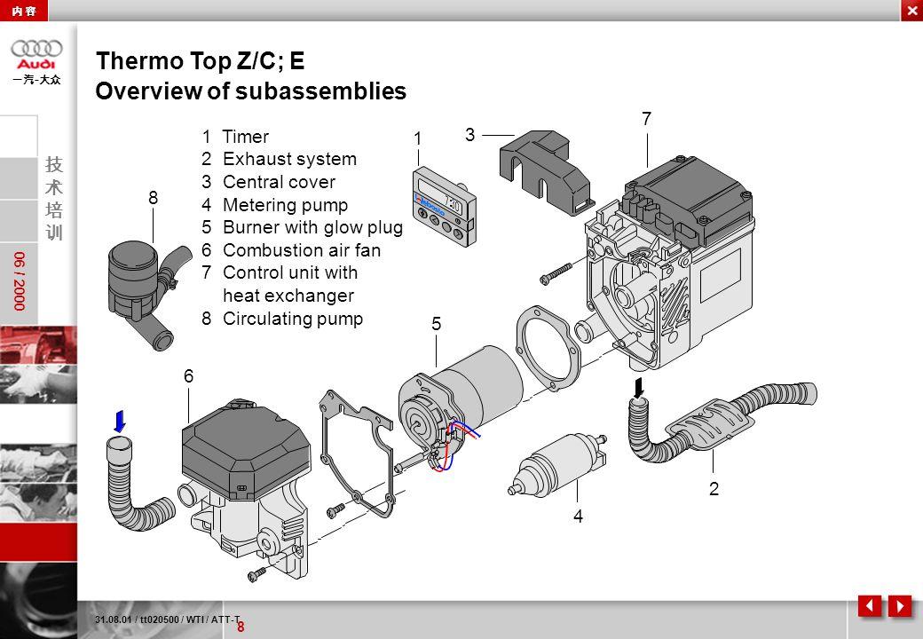 Webasto Thermo Top Z Cd Wiring Diagram  Wiring Diagram Sketch