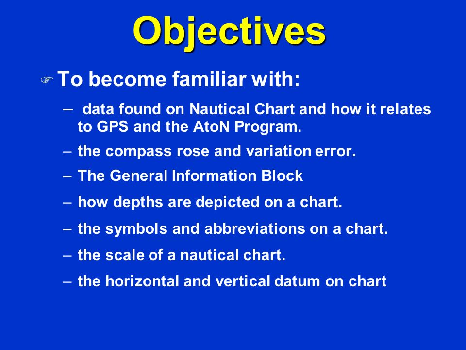 Session II Nautical Charts - ppt video online download