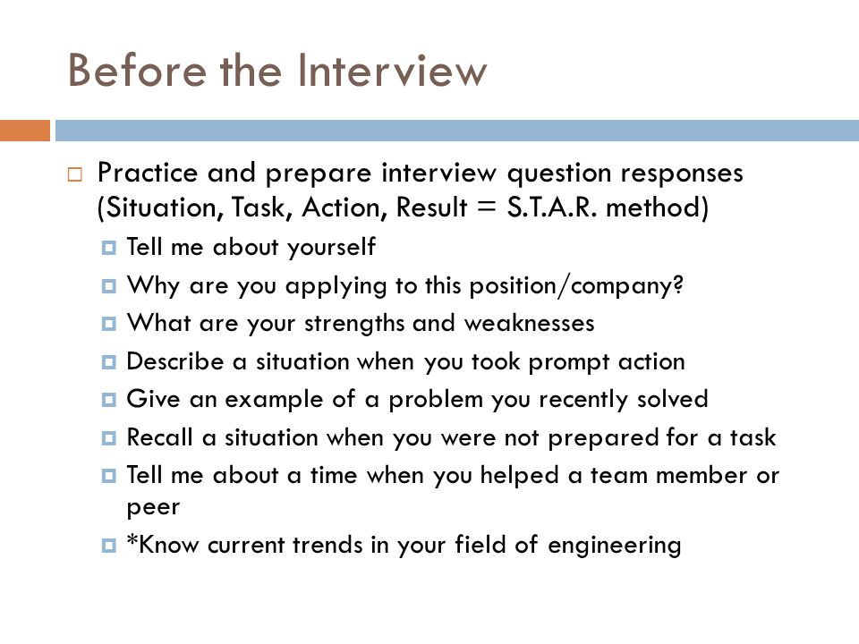 What to do if you get an interview - ppt download