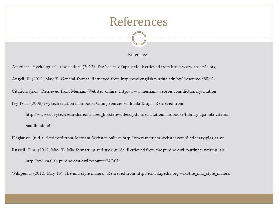 Citations Modern Language Association (MLA) - ppt video online download