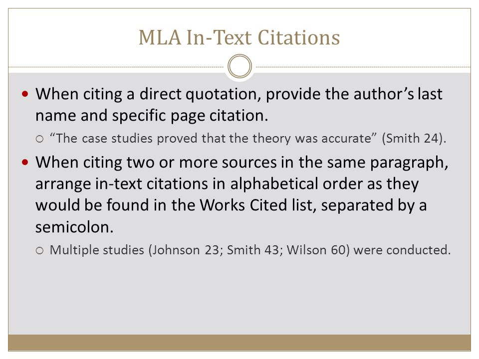 Mla citation rules College paper Academic Writing Service