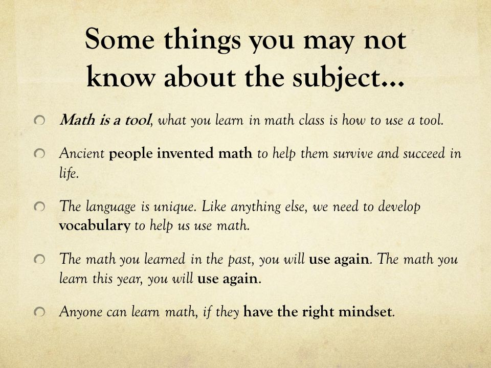 Welcome to Math ppt video online download
