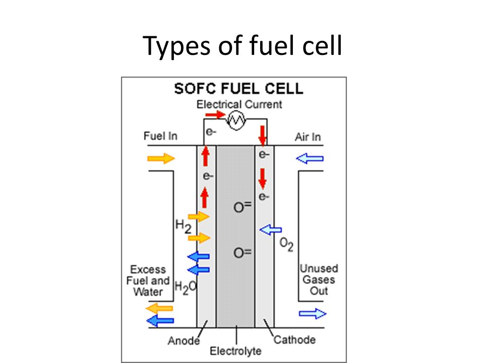 fuel cell chemical reaction