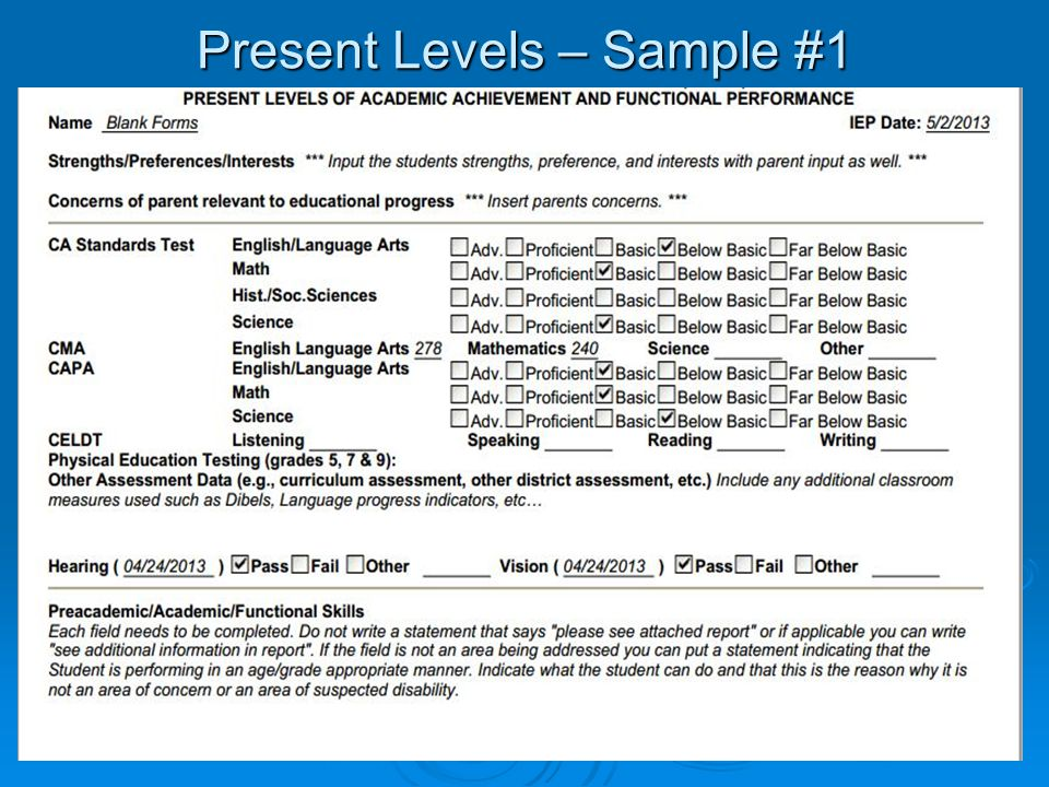 SEIS \u2013 IEP Changes  Compliance - ppt video online download