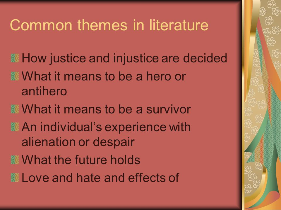 Theme, Symbols, and Motifs - ppt video online download