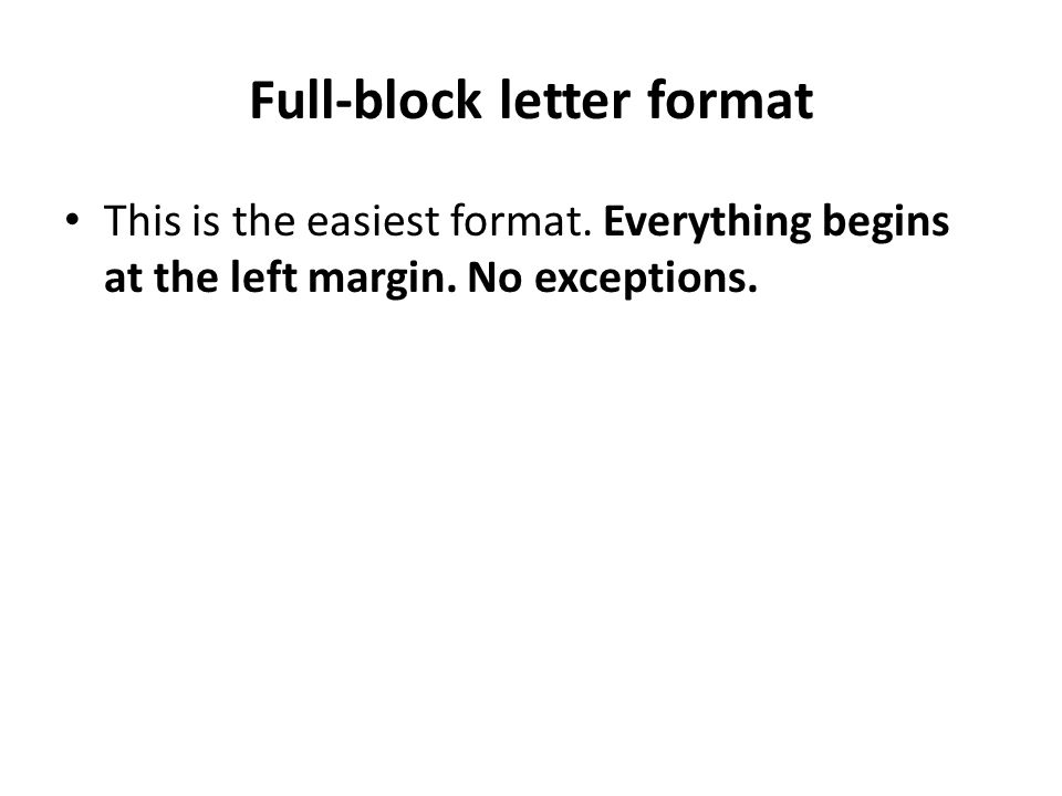 Types of Format - ppt video online download