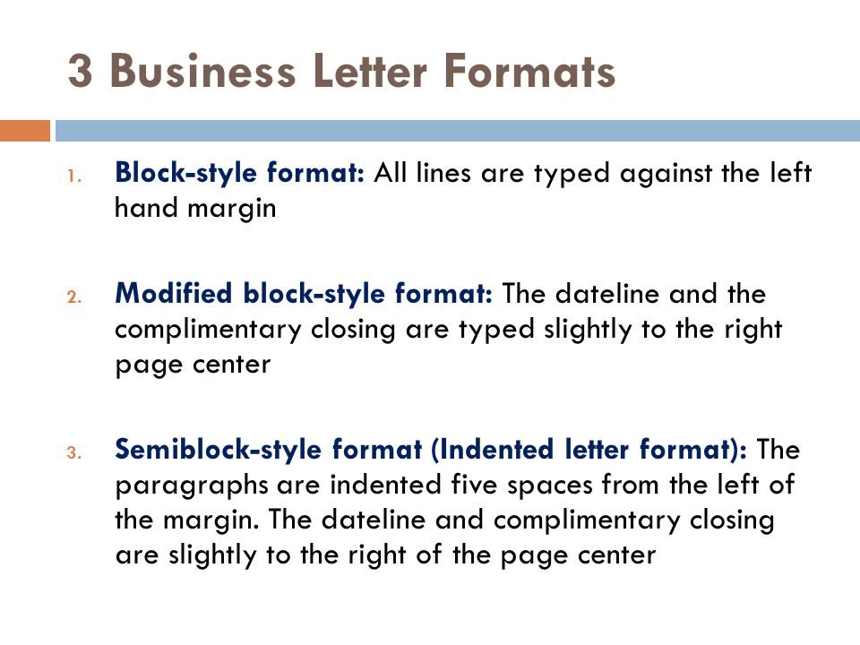 formats for business letters - Pinarkubkireklamowe