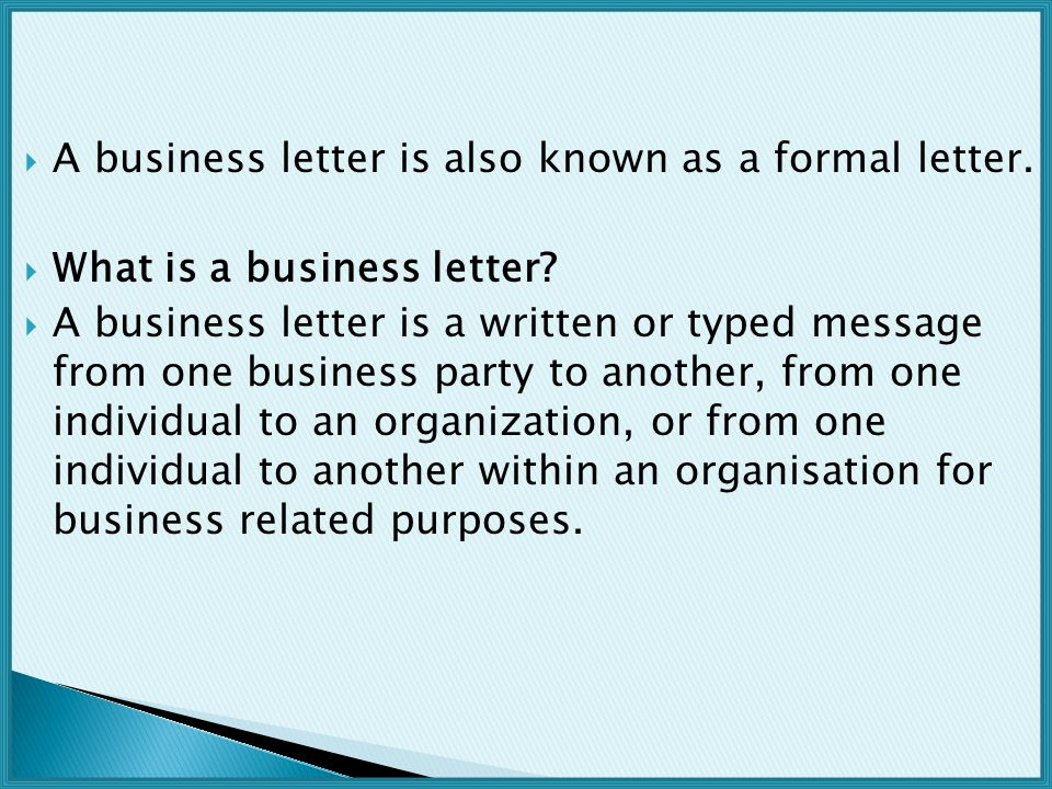 Business Letters - ppt video online download