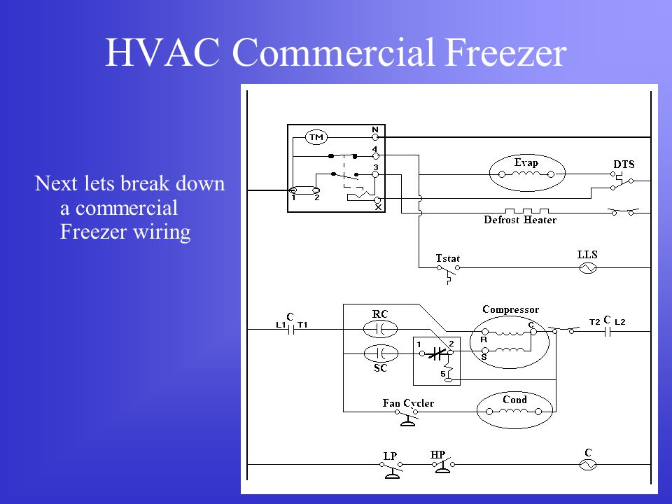 Commercial Freezer Wiring Schematic