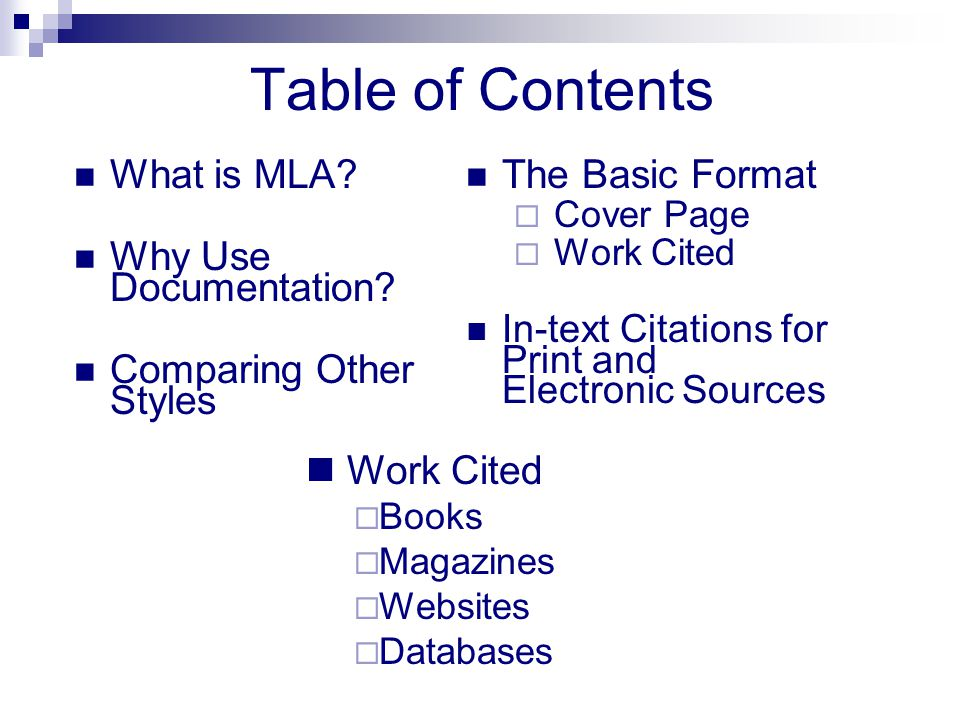 An Introduction to MLA Citation  Format - ppt video online download