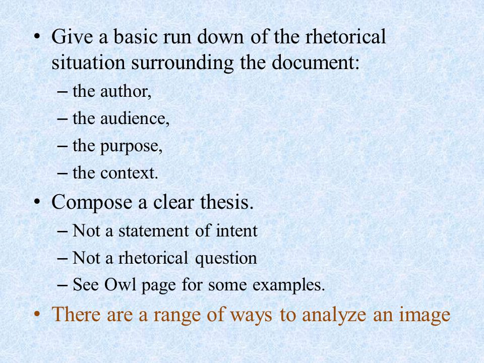 Buy example of a rhetorical essay